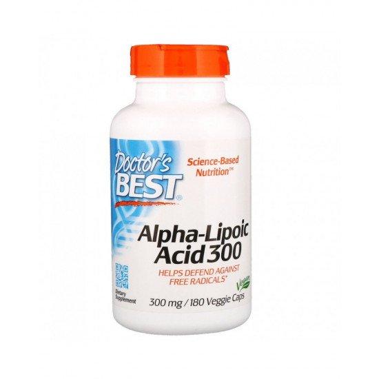 Alpha-Lipoic Acid 300 mg 180 Veggie Capsules