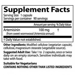 Best Artemisinin 100 mg 90 veggie caps