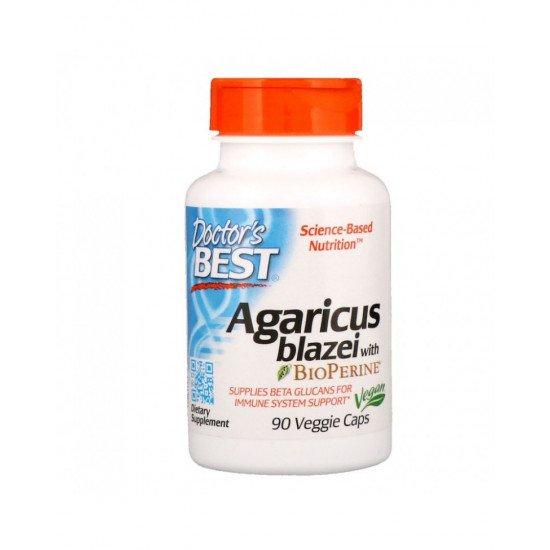 Agaricus Blazei with BioPerine 90 Veggie Capsules