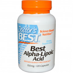 Best Alpha Lipoic Acid 150 mg 120 capsules