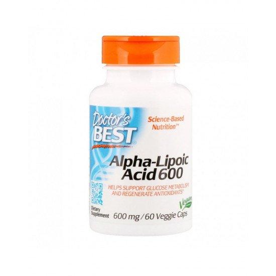 Alpha-Lipoic Acid 600 mg 60 Veggie Capsules