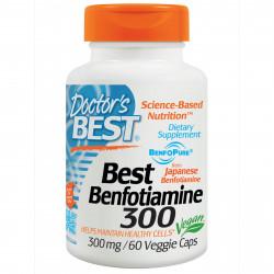 Benfotiamine 300 mg 60 veggie caps