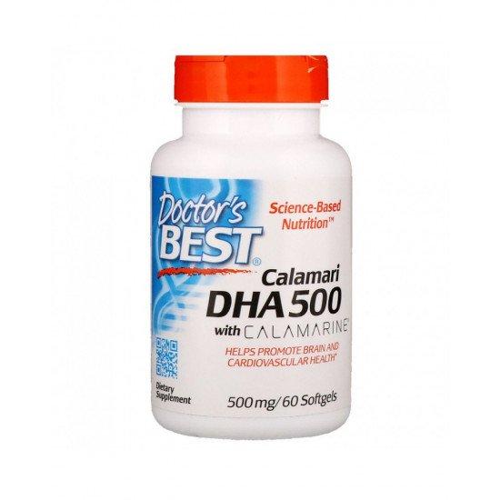 Calamari DHA 500 With Calamarine 500 mg 60 Softgels