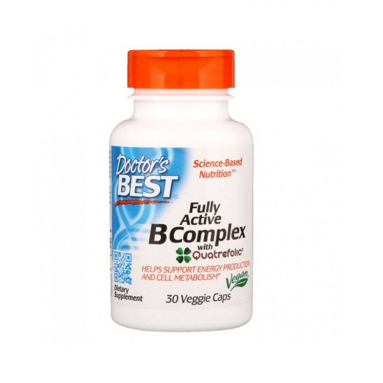 Fully Active B Complex 30 Veggie Capsules