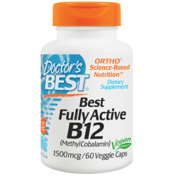 Best Fully Active B12 1500 mcg 60 veggie caps