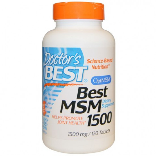 Best MSM 1500 mg 120 tablets Doctor`s Best