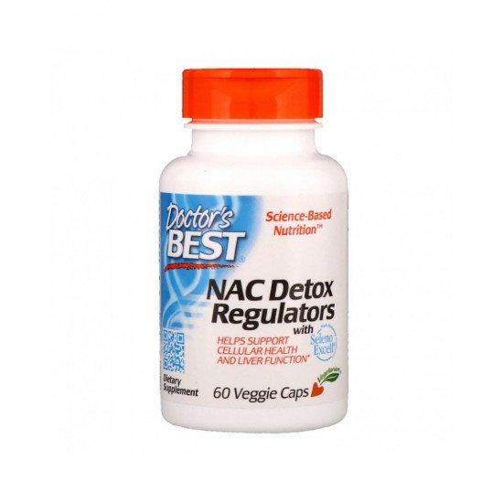 NAC Detox Regulators 60 Veggie Capsules