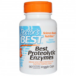 Best Proteolytic Enzymes 90 enteric coated veggie caps