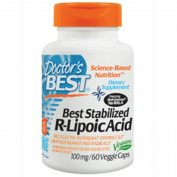 Best Stabilized R-Lipoic Acid 100 mg 60 veggie caps