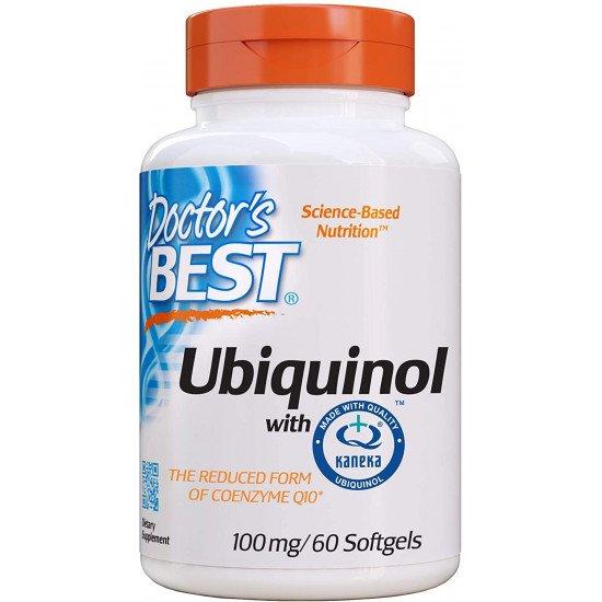 Ubiquinol with Kaneka 100 mg 60 Softgels
