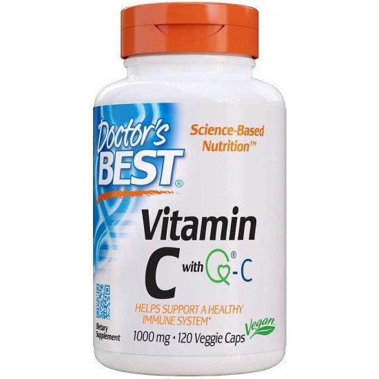 Vitamin C with Q-C 1000 mg 120 Veggie Capsules