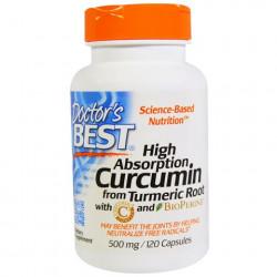 Curcumin High Absorption 500 mg 120 capsules