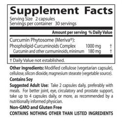 Curcumin Phytosome Meriva 500 mg 60 veggie caps
