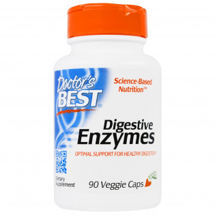 Digestive Enzymes 90 Veggie Caps Doctor`s Best