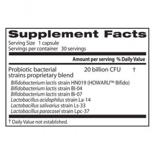 Digestive Probiotic 20 Billion 30 Veggie Caps I Doctor`s Best