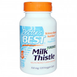 Euromed Milk Thistle 150 mg120 veggie caps