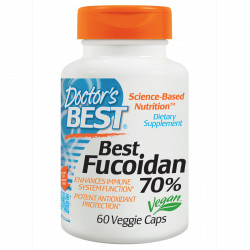 Best Fucoidan 70% 300 mg 60 veggie caps