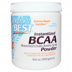Instantized BCAA Powder 300 gr Doctor`s Best