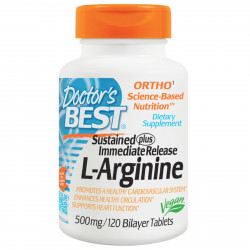 L-Arginine 500 mg 120 Tablets I Doctor`s Best