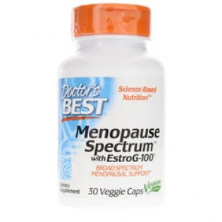Menopause Spectrum With Estrog-100 30 veggie caps Doctor`s Best