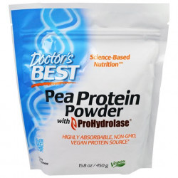 Pea Protein Powder 450 gr Doctor`s Best