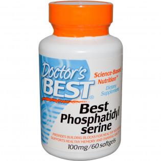Best Phosphatidylserine 100 mg 60 softgels