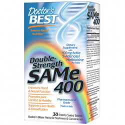 SAM-e 400 mg 30 enteric coated tablets